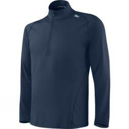 Saxx Mens Thermo-Flyte Long Sleeve Top Navy