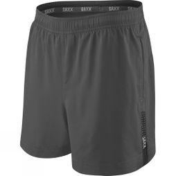 Saxx Mens Kinetic Run Shorts Dark Charcoal