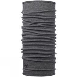 Buff Merino Wool Buff Light Grey Melange