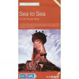 Sustrans Sea to Sea: Cycle Route Map No Colour