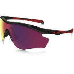 Oakley M2 Frame XL Prizm Road Polarised Sunglasses Polished Black/Prizm Road