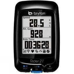 Rider 21T GPS Unit With Dual Sensor And HRM