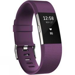 Fitbit Charge 2 Plum/Silver