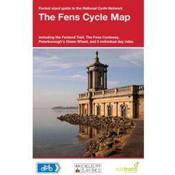 Sustrans Four Point Mapping Fens Cycle Map No Colour