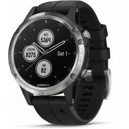 Garmin Fenix 5 Plus Multisport GPS Watch Silver/Black