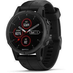 Garmin Fenix 5S Plus Sapphire Multisport GPS Watch Black/Black