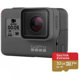 Hero5 Black + 32GB MicroSD Card Bundle