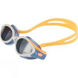 Speedo Womans Futura Biofuse Flexiseal Polarised Triathlon Goggle Fluo Orange/ Stellar/ Smoke