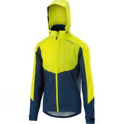 Altura Mens Nightvision Thunderstorm Jacket Blue / Hi Viz Yellow