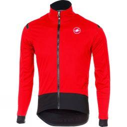 Castelli Mens Alpha RoS Light Jacket Red