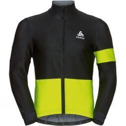Odlo Mens Vlaanderen Jacket Black/Yellow