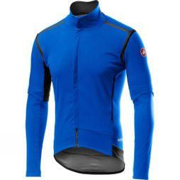 Castelli Mens Perfetto RoS Convertible Jacket Drive Blue