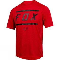 Fox Clothing  Mens Ranger Short Sleeve Jersey Bars Bright Red