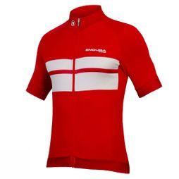 Endura Mens FS260-Pro Short Sleeve Jersey Red