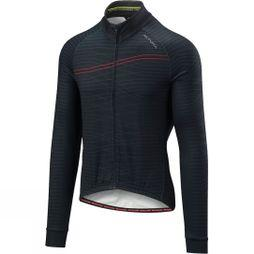 Altura Mens Thermo Lines Long Sleeve Jersey Black/Red