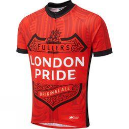 Foska London Pride Road Cycling Jersey Red