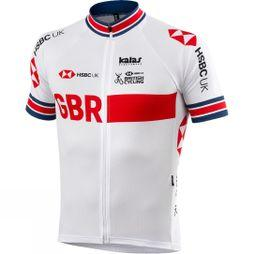 Kalas British Cycling Replica Jersey Active White