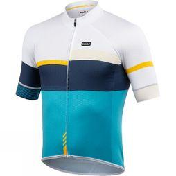 Kalas Mens Passion X9 Short Sleeve Jersey Blue/ Yellow