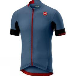 Castelli Aero Race 4.1 Full-Zip Solid Jersey Light Steel Blue