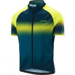 Altura Mens Airstream Short Sleeve Jersey Hi Viz Yellow / Teal