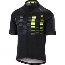Altura Mens Icon Odyssey Short Sleeve Jersey Black/ Hi Viz