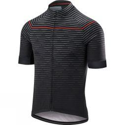 Altura Mens Icon Horizon Short Sleeve Jersey Black / Orange