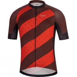 Gore Mens C3 Jersey F red/black