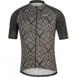 Gore Mens C3 Jersey B Black / Mid Grey