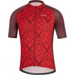 Gore Mens C3 Jersey B Red