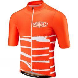 Morvelo Mens Interference Standard Short Sleeve Jersey Orange