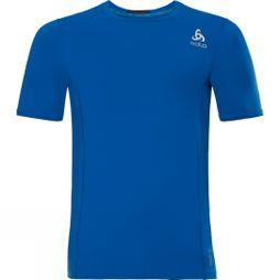 Odlo Mens Ceramicool Pro Base Layer SS Top Energy Blue