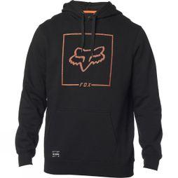 Fox Mens Chapped Pullover Hoodie BLACK