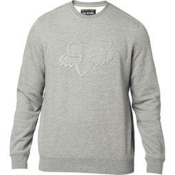 Fox Mens Refract DWR Crew Pullover GREY