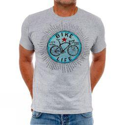 Cycology Bike Life Tee Grey