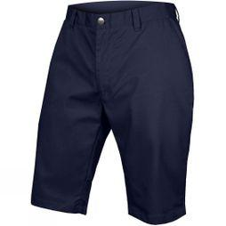 Endura Mens Hummvee Chino Short with Liner Navy