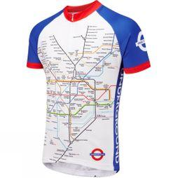 Foska Mens Underground Cycling Jersey No Colour