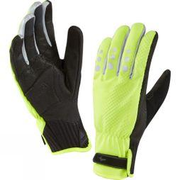 SealSkinz All Weather XP Cycle Glove Hi Vis Yellow / Black