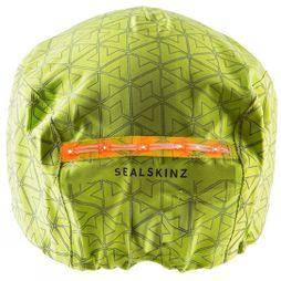 SealSkinz Halo Waterproof Helmet Cover Illuminous/Reflective Print