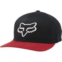 Fox Scheme 110 Snapback Hat BLACK/RED