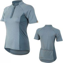 Pearl Izumi W Select Escape Texture Jersey Blue Steel Herringbone