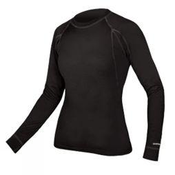 Endura Womens Baa Baa Merino Long Sleeve Base Layer Black / None