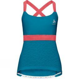 Odlo Womens Ceramicool X-Light Singlet Crystal Teal