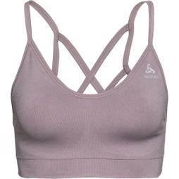 Odlo Womens Seamless Soft Sports Bra Grey / Quail