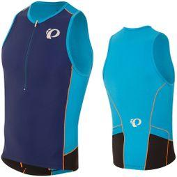 Pearl Izumi Elite Pursuit Tri Singlet Bel Air Blue