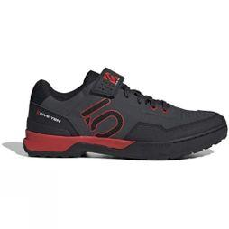 5.10 Mens Kestrel MTB Shoe Carbon/Core Black/Red
