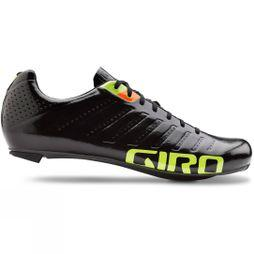 Giro Mens Empire SLX Road Shoes Black          /Bright Green
