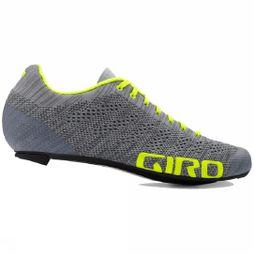 Giro Mens Empire E70 Knit Grey Heather/Highlight Yellow
