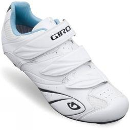 Giro Womens Sante II Road Shoe White          /Black