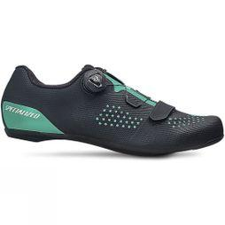Specialized Womens Torch 2.0 Road Shoes Black/Mint