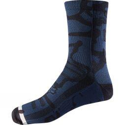 Mens 8' Print Trail Socks